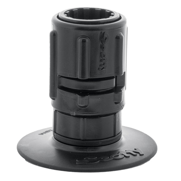 Scotty 448 Stick-On Mount w/Gear-Head Adapter - 3