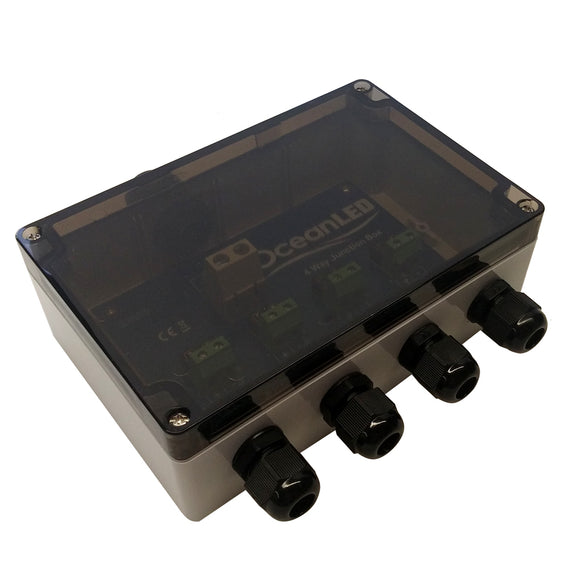 OceanLED Standard 4-Way Junction Box [019901]