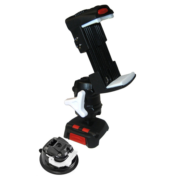Scanstrut ROKK Mini Kit w/Universal Phone Clamp, Adjustable Arm  Mini Suction Cup Base [RLS-509-405]
