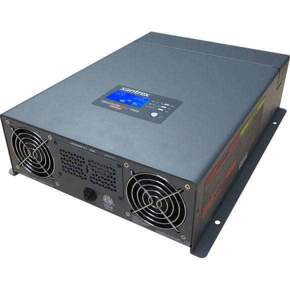 Xantrex Freedom XC 1000 True Sine Wave Inverter/Charger - 12VDC - 120VAC - 1000W/50A [817-1050]