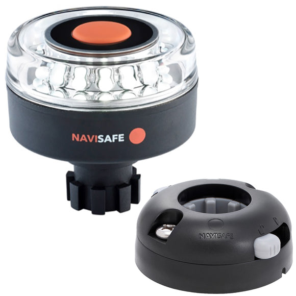 Navisafe Navilight 360 2NM w-Navibolt Base  Horizontal Mount - Black [042KIT7]