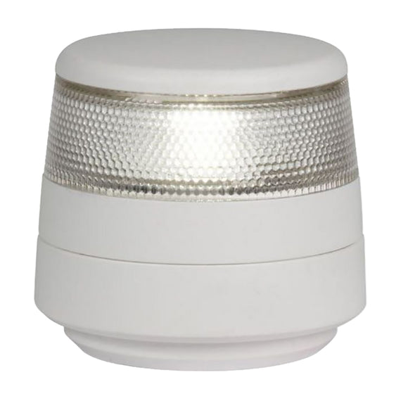 Hella Marine NaviLED 360 Compact All Round White Navigation Lamp - 2nm - Fixed Mount - White Base [980960011]