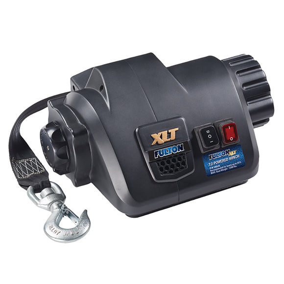 Fulton XLT 7.0 Powered Marine Winch w-Remote f-Boats up to 20 [500620]