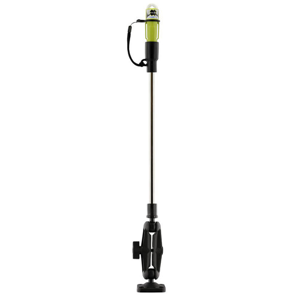 Scotty 838 LED Sea-Light w-Fold Down Pole  Ball Mount [0838]