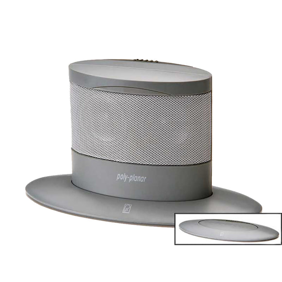 Poly-Planar Oval Waterproof Pop-Up Spa Speaker - Gray [MA7020G]
