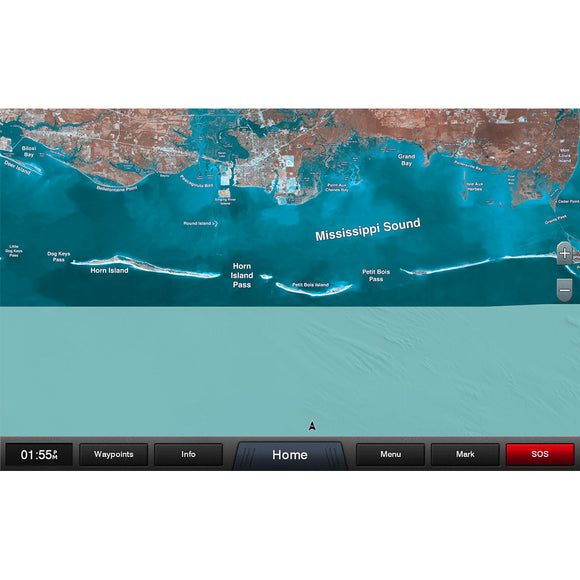 Garmin Standard Mapping - Mississippi Sound Classic microSD-SD Card [010-C1183-00]