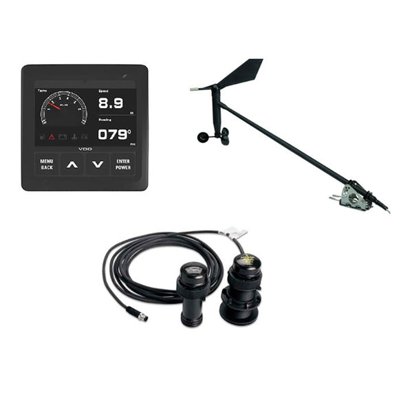 Veratron Navigation Kit f/Sail, Wind Sensor, Transducer, Display  Cables [A2C1352150002]