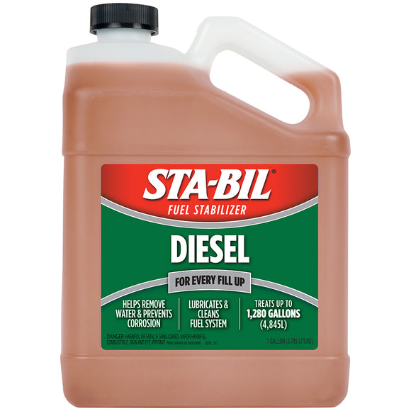 STA-BIL Diesel Formula Fuel Stabilizer  Performance Improver - 1 Gallon [22255]