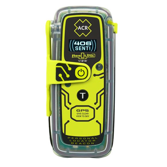 ACR ResQLink View 425 Personal Locator Beacon w-Digital Display [2922]
