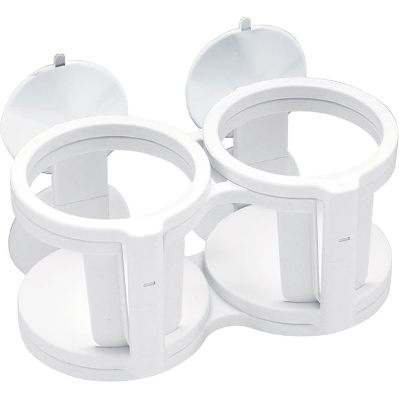 Sea-Dog Dual-Quad Drink Holder w-Suction Cups [588520-1]
