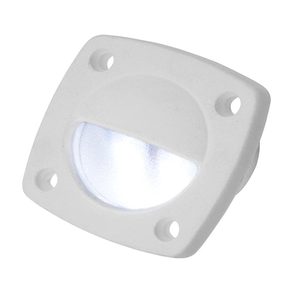 Sea-Dog LED Utility Light White w-White Faceplate [401321-1]