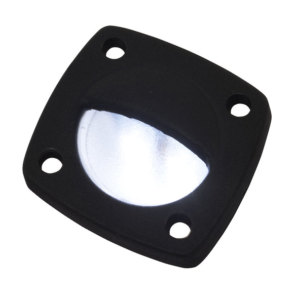 Sea-Dog LED Utility Light White w-Black Faceplate [401320-1]