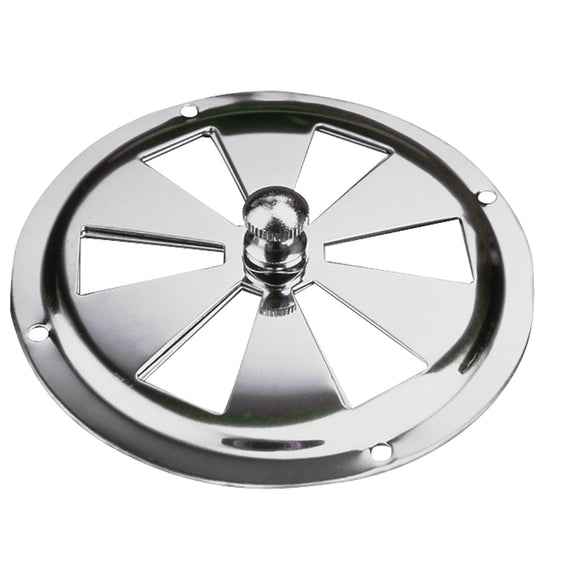 Sea-Dog Stainless Steel Butterfly Vent - Center Knob - 4