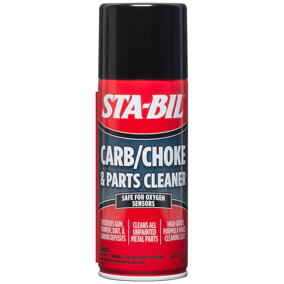 STA-BIL Carb Choke  Parts Cleaner - 12.5oz *Case of 12* [22005CASE]