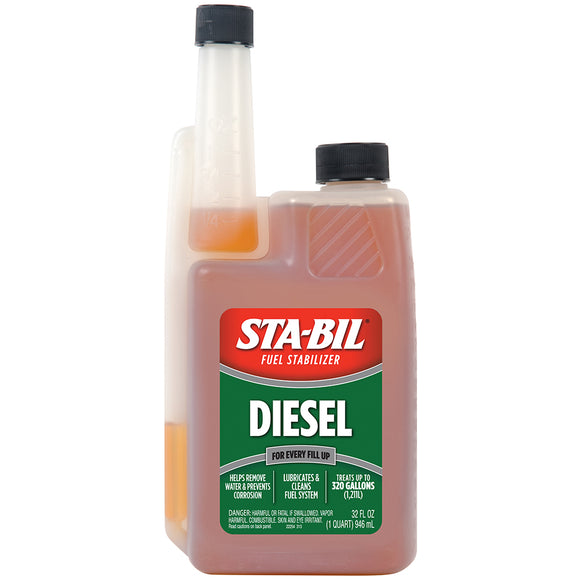 STA-BIL Diesel Formula Fuel Stabilizer  Performance Improver - 32oz *Case of 4* [22254CASE]