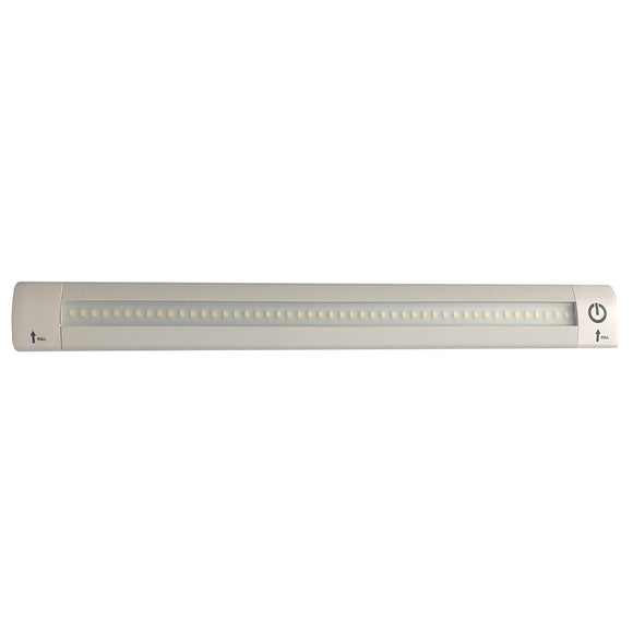 Lunasea LED Light Bar - Built-In Dimmer, Adjustable Linear Angle, 12