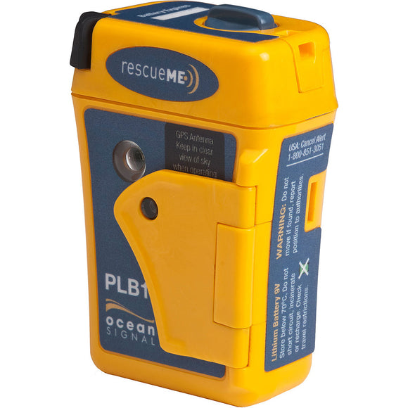 Ocean Signal RescueME PLB1 Personal Locator Beacon w/7-Year Battery Storage Life [730S-01261]