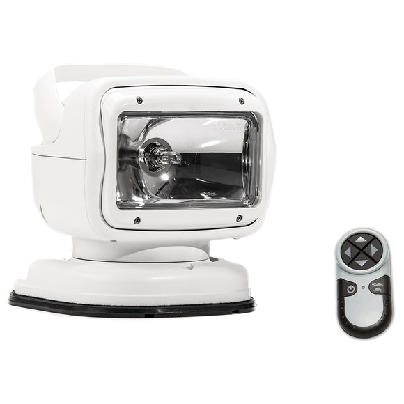 Golight Radioray GT Series Portable Mount - White Halogen - Wireless Handheld Remote Permanent Shoe Mount [7900GT]