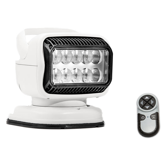 Golight Radioray GT Series Portable Mount - White LED - Handheld Remote Magnetic Shoe Mount [79014GT]