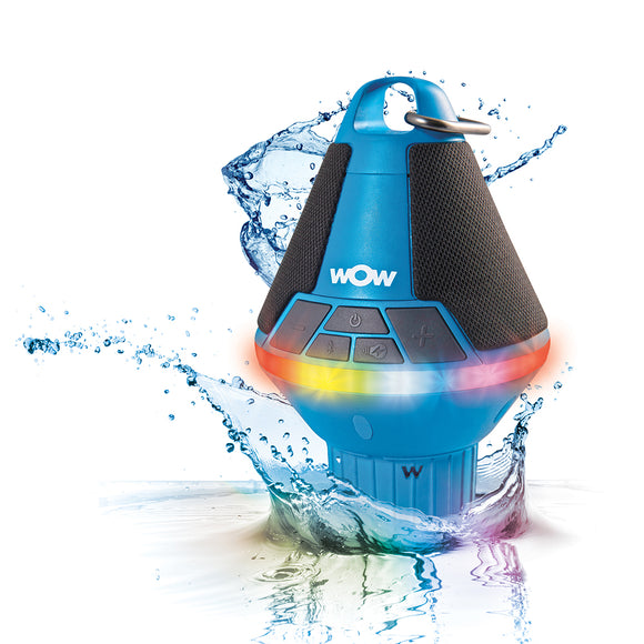 WOW Watersports WOW-SOUND Buoy Bluetooth Speaker - Blue [19-9010]