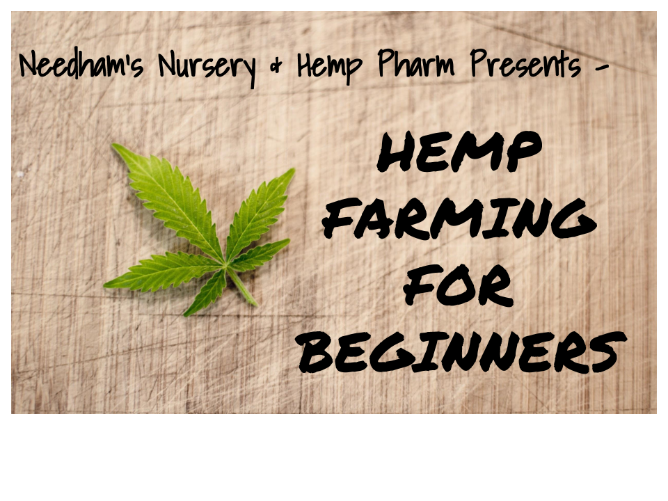 ONLINE HEMP FARMING FOR BEGINNERS