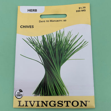 Chives Seed Packet