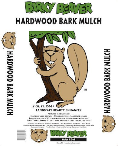 Hardwood Mulch Bag