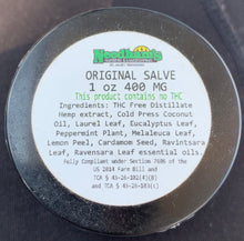 Load image into Gallery viewer, THC FREE Original Salve