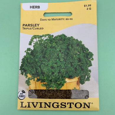 Parsley Triple/Curled Seed Packet