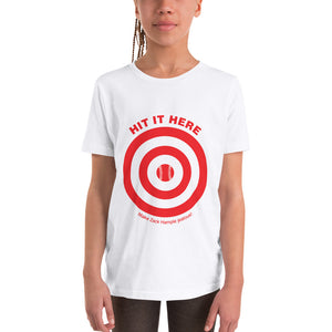 """HIT IT HERE"" Youth Unisex T-Shirt"