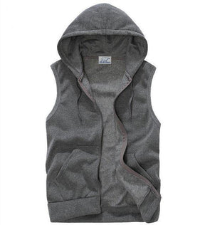 Polar Casual Hooded Vest