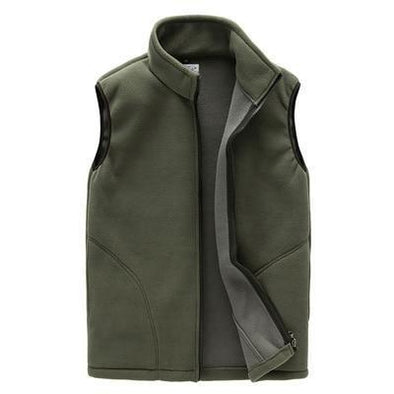 Autumn Classic Fleece Vest