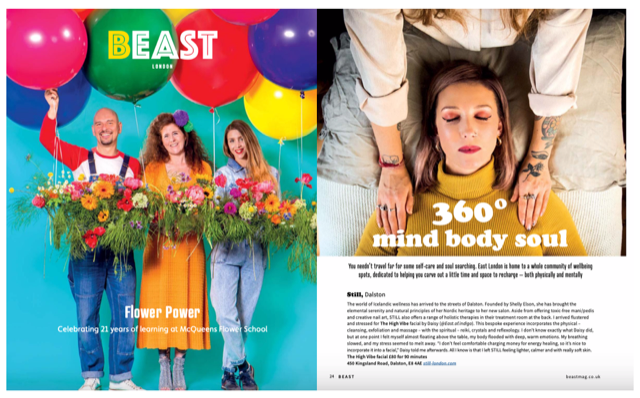 Beast Magazine MIND BODY SOUL Review