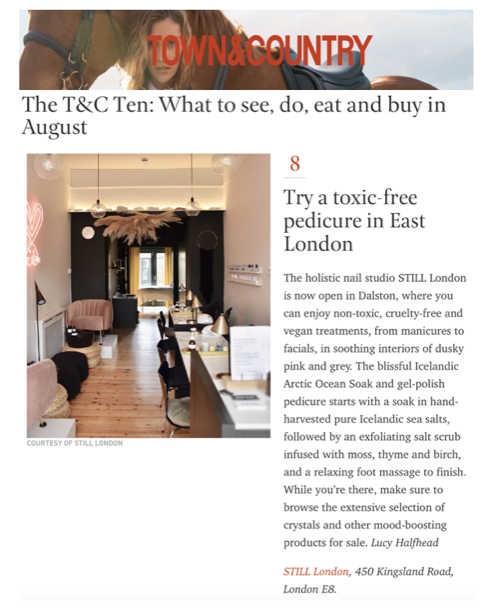 Town & Country Review - Top Ten Things to Do