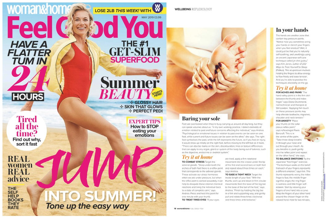"Woman & Home Magazine ""Feel Good You""  review"