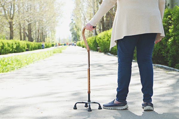 What is a Quad Walking Stick/ Cane? - Think Mobility