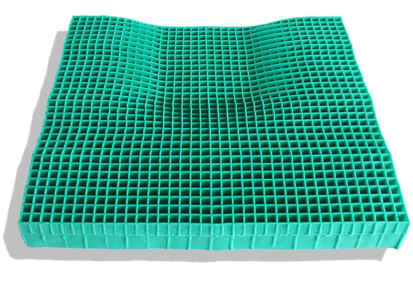 What is a honeycomb cushion?