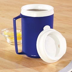 Mug Insulated With Tumbler Lid [Pat-1137] - Think Mobility