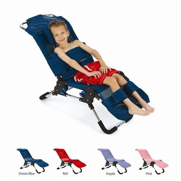 Starfish Bath Chair Ocean Blue Size 1 [Pat-081230986] - Think Mobility