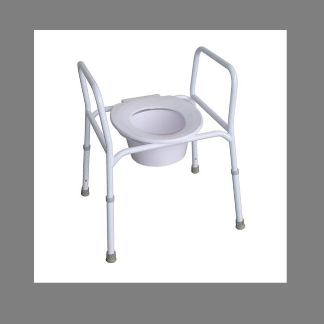 Over Toilet R & R Frame Steel No Lid [12247S] - Think Mobility
