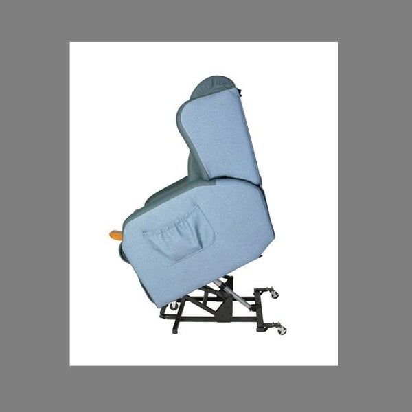 Lift Chair Air Comfort Compact Single Motor Small Macrosuede [Ac59047] - Think Mobility