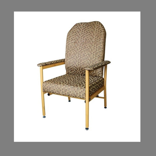 Chair Murray Bridge R & R High Back 52Cm Coffee Dot [18002Hadc52] - Think Mobility