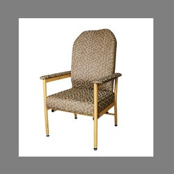 Chair Murray Bridge R & R High Back 60Cm Fabric Coffee Dot [18002Hadc60] - Think Mobility