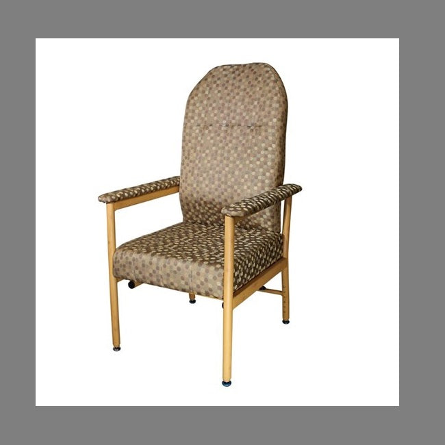 Chair Murray Bridge R & R High Back 45Cm Coffee Dot [18002Hadc] - Think Mobility