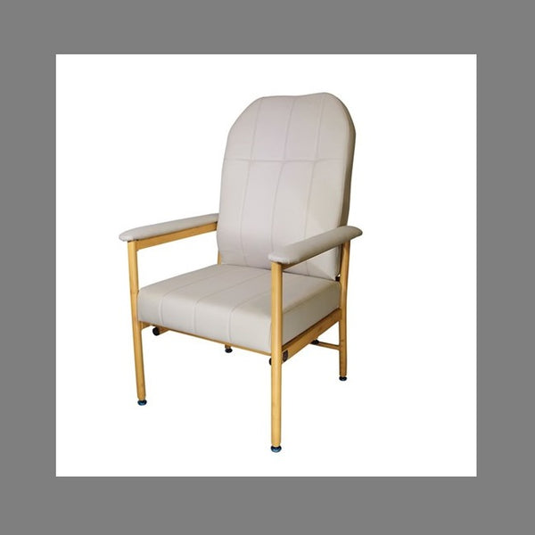 Chair Murray Bridge R & R High Back 52Cm Vinyl Fawn [18002Haf52] - Think Mobility