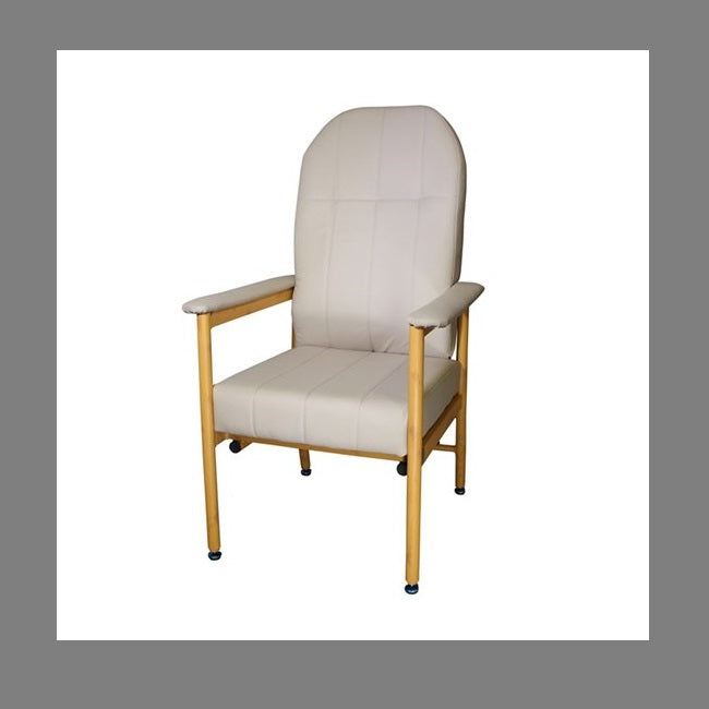Chair Murray Bridge R & R High Back 45Cm Vinyl Fawn [18002Haf] - Think Mobility