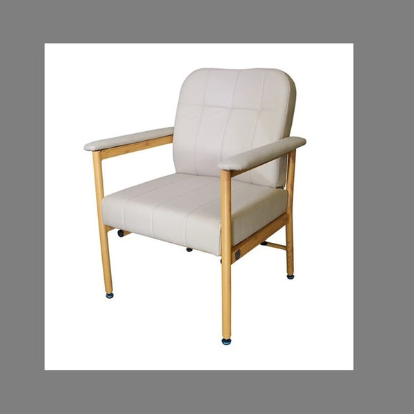 Chair Murray Bridge R & R Low Back 52Cm Vinyl Fawn [18002Laf52] - Think Mobility