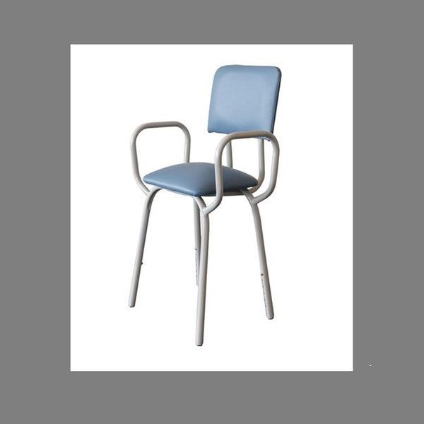Kitchen Propping Stool Greystone With Arms & Back Rest R&r [18102] - Think Mobility