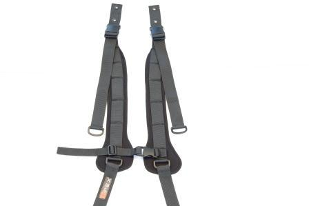Spex Padded Shoulder H-Harness Medium [1409-6642-017] - Think Mobility