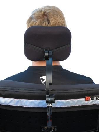 Head Support Square With Standard Zoom Hardware Large [1270-4112-000] - Think Mobility